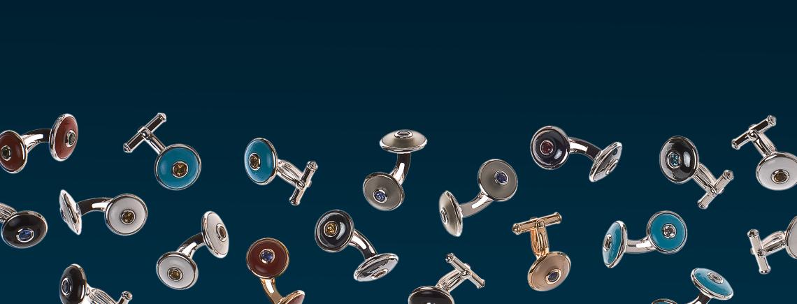 Banner Manschettenknöpfe Spreckelsen Men´s Collection Cufflinks for men