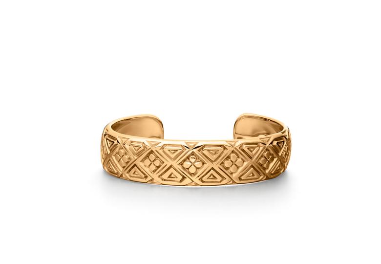 AFRICA BANGLE GOLD